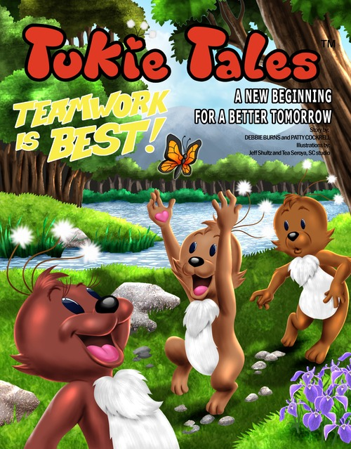 Product picture Tukie Tales: TEAMWORK IS BEST!